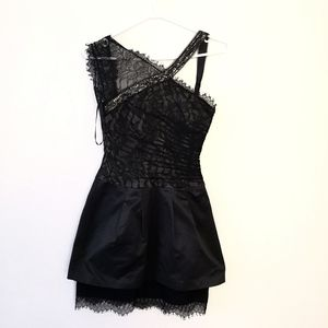 Black lace BCBG dress